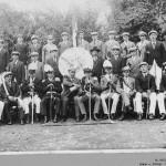 001_Verein - 1924 Gruppenbild Junggesellen und Mitglieder des MGV