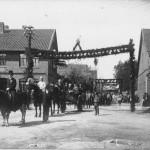 005_Verein - 1922 Fahnenweihe Umzug