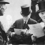 012b_Verein - 1952 Gründungsmitglieder MGV (v.l. Josef Dierker, Wilhelm Höhne, Karl Schiefer)