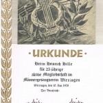 021_Verein - 1976 Urkunde Hille
