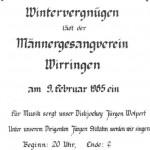 024_Verein - 1985 Einladung Wintervergnügen