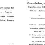 027b_Verein - 1992 Veranstaltungsablauf Fahnenweihe