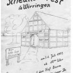 028_Verein - 1993 Scheunenfest Einladung