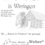 029_Verein - 1997 Scheunenfest Einladung