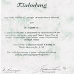 032_Verein - 2002 Einladung 100 Jahre kath. Chor Bolzum