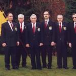 034_Verein - 2002 Gruppenbild MGV - erweiterter Vorstand (v. l. D. Lüders, W. Sohns, G. Czysz, M. Scharfenberg, W. Müller, J. Stillahn)