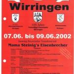 035_Verein - 2002 Einladung Zeltfest MGV FFW Schützen